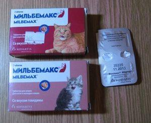 Форма выпуска для котят и взрослых кошек