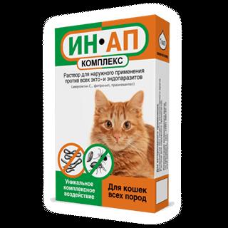 Раствор против власоедов у кошки