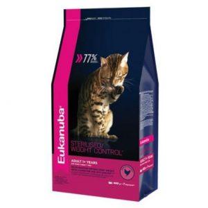 Эукануба для стерилизованных кошек