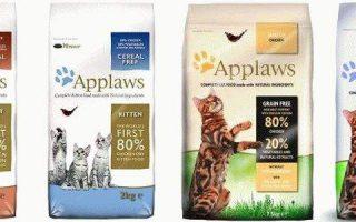 Applaws корм для кошек